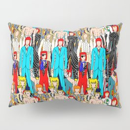 Gray Heroes Group Fashion Outfits Pillow Sham