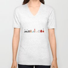 Back to the Future - Iconic Props Unisex V-Neck