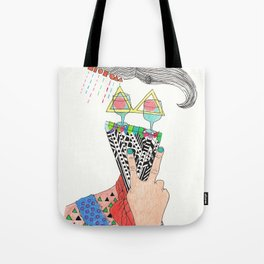 sensitive to the letter K Tote Bag