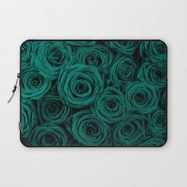 emerald green roses Laptop Sleeve