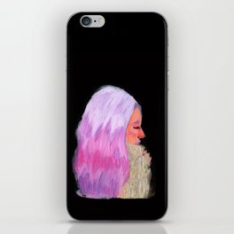Pink Hair! iPhone Skin