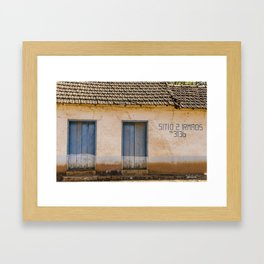 site in Sardoal Framed Art Print