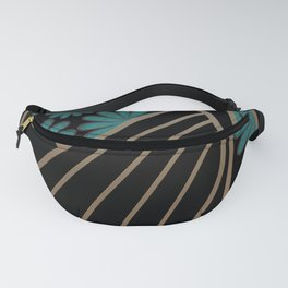 ART DECO FLOWERS (abstract) Fanny Pack