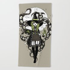 Walpurgis Night Beach Towel