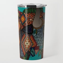 bison teal Travel Mug
