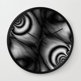 Mirrored Metaphors Wall Clock