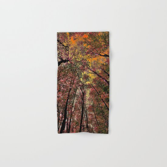 Colored forest Hand & Bath Towel