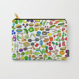 Food Lovers Variety Set Carry-All Pouch