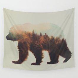 Norwegian Woods: The Brown Bear Wall Tapestry