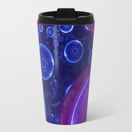Atlantian Abyss - Sapphire Jewel of the Ocean Travel Mug