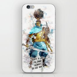 Death is like the Wind iPhone Skin