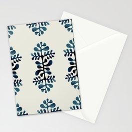 blue shibori Stationery Cards