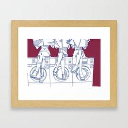 LAUNDROMAT 1.0 Framed Art Print