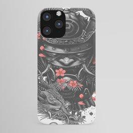 Sleeve tattoo Samurai Irezumi iPhone Case