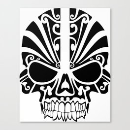 Tribal skull Canvas Print