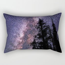 Celestial Starlight in the Forest Near  Lake Irene Colorado by OLena Art - brand Rectangular Pillow