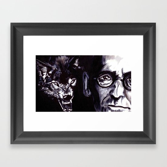 Treatise on the Steppenwolf. Not for Everybody. Framed Art Print