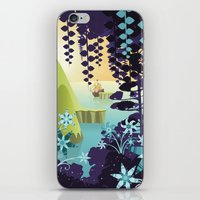 neverland iPhone & iPod Skins featuring Neverland by Mario Graciotti