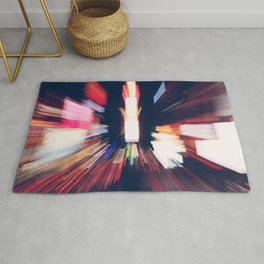 Times Square NYC, Fine Art Urban Photography Rug