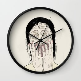 Overjoyed Wall Clock