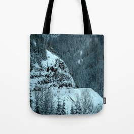 The Road Curves Upward Tote Bag