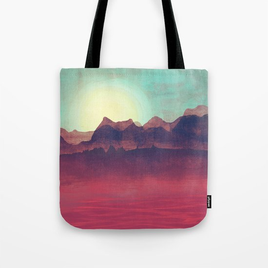 Distant Mountains Tote Bag