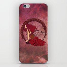 Autumn Fairy Nouveau iPhone Skin
