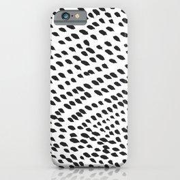 Dark Drops iPhone Case