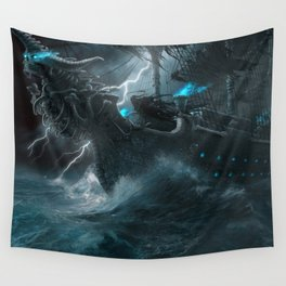 The Galley of Death Wall Tapestry