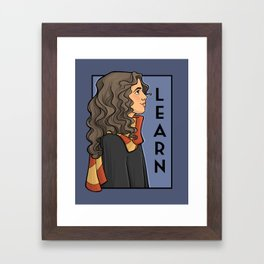 Learn Framed Art Print