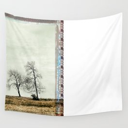 Trees Without Leaves Wall Tapestry