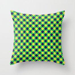 Gingham - Healthy Garden Throw Pillow