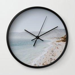 coast v / malibu, california Wall Clock