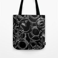 metallic Tote Bags featuring Metallic by LoRo  Art & Pictures