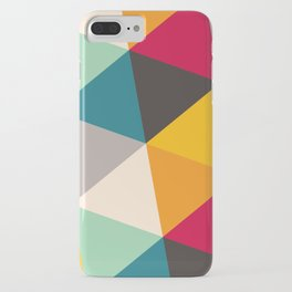 Geometric Triangles iPhone Case