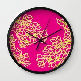 Vivid Bonsai Wall Clock
