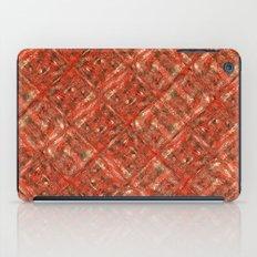 RedSquaresDiag iPad Case