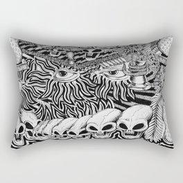 Mind Control Pizza Gypsies  Rectangular Pillow