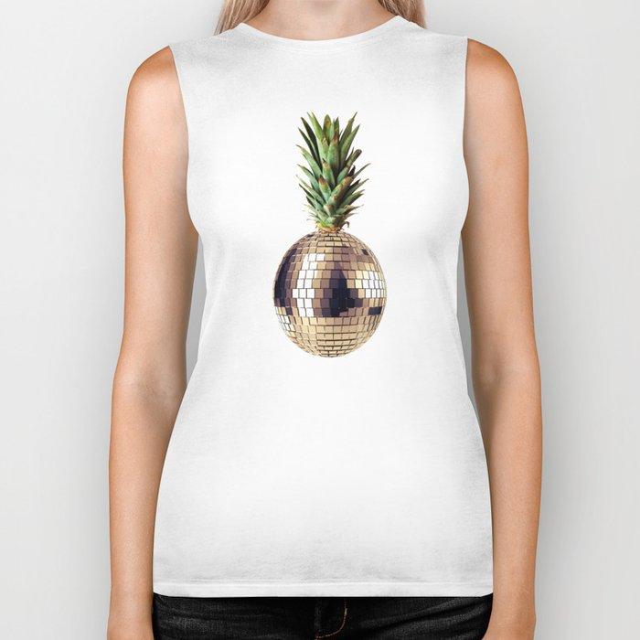 ananas party (pineapple) Biker Tank