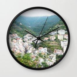 Riomaggiore, Cinque Terre Wall Clock