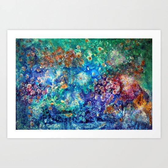 Transvers Painting Art Print