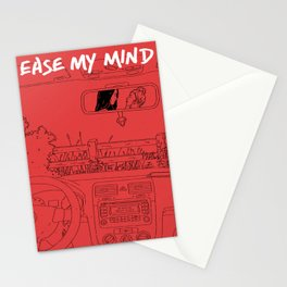 Ease My Mind Stationery Cards