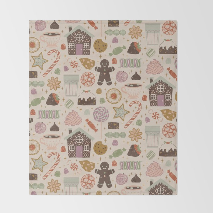 In the Land of Sweets Throw Blanket