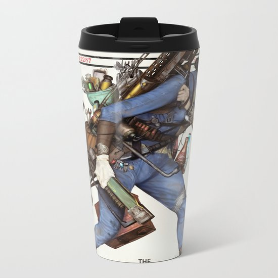 Junktown Vendor Metal Travel Mug