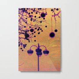 Disco Lamp Metal Print