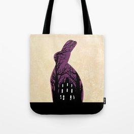 Rabbit's house Tote Bag