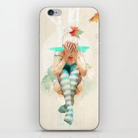 ariana grande iPhone & iPod Skins featuring Autumn by Ariana Perez