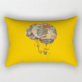 brain kludge Rectangular Pillow