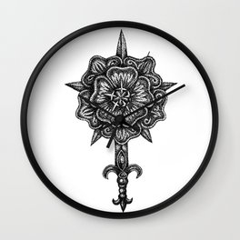 House Rosewood Wall Clock