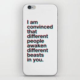 I Am Convinced iPhone Skin